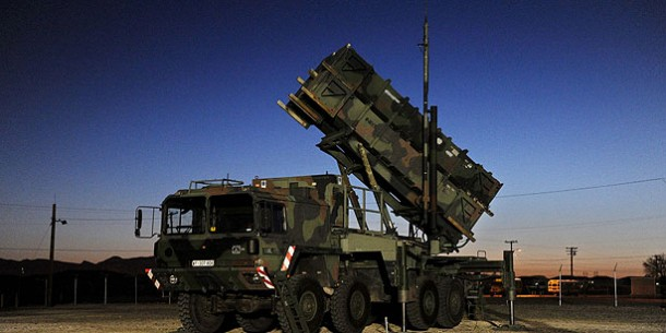 German ' Missile 'soldiers arrived in SE Turkey to deploy and set up Patriots