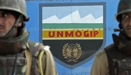 UN military observer group in India and Pakistan (UNMOGIP) office in Srinagar, Indian Kashmir. File Pic