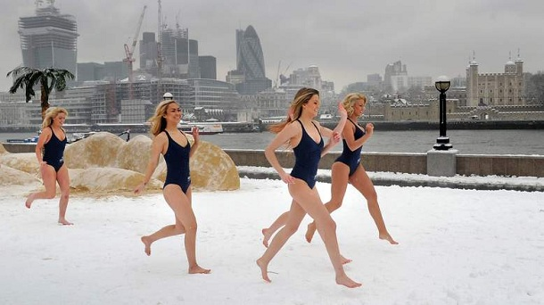 Uk Winter Weather Snow Hits Britain Two People Are Dead