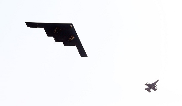 US-B2-STEALTH-BOMBERS-FLY-OVER-KOREAN-PENINSULA