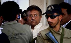 Pakistan's former military ruler Parvez Musharraf. File Pic