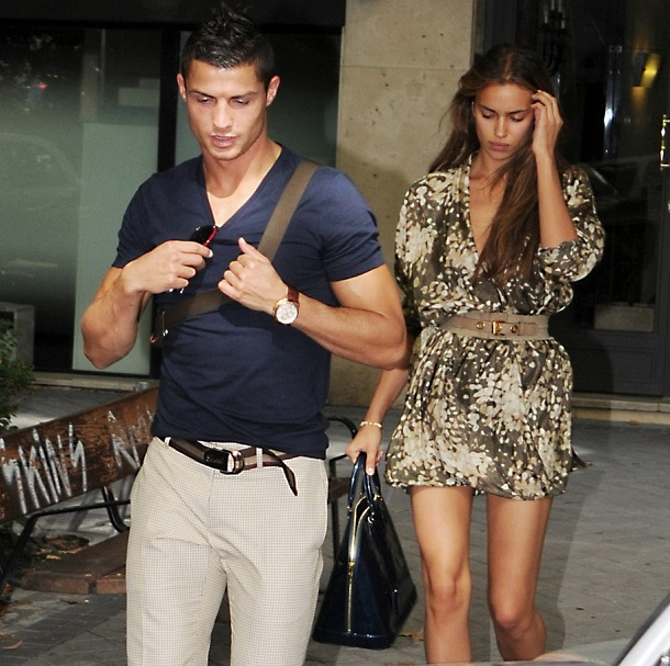 Is really Cristiano Ronaldo to Irina Shayk cheated on with ... Irina Shayk And Cristiano Ronaldo 2013