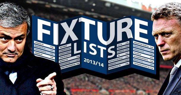 Barclays Premier League:2013-14 Premier League Fixtures released / EPL
