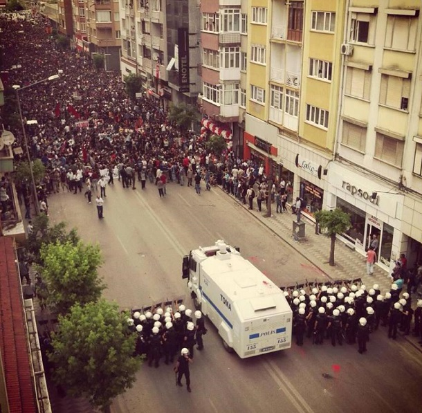 There is Eskisehir City Unrest Turkey