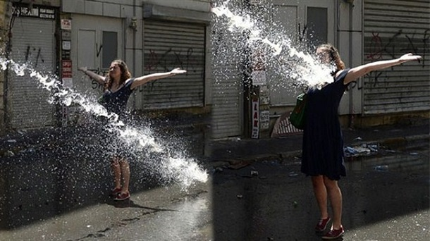 Woman-Against-Water-Cannon