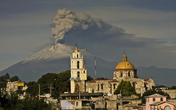 Mexico's Popocatepetl