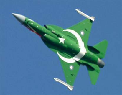 Pakistan Air Force's fighter jet. File Pic