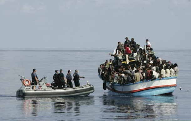 African-Illegal-Migrants-Arrested-Italian-Police