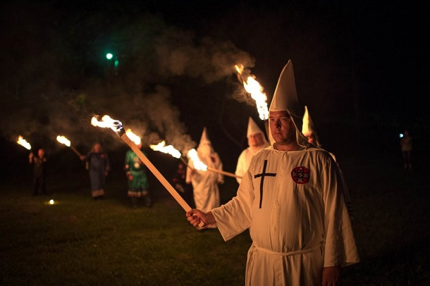 Ku klux klan the pictures give an insight into a dark side of society