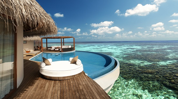 Trend In The Hotel Industry The Pool Is The Star In Maldives Travel News Nationalturk
