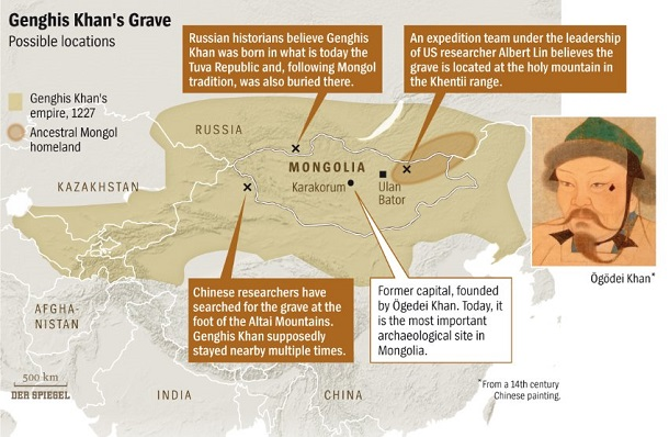 Genghis-Khan-Empire-Map