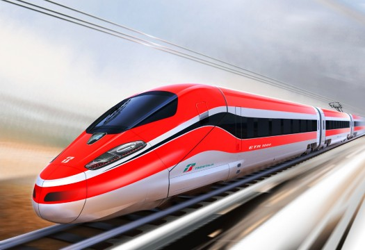 High speed train in Japan. File Pic
