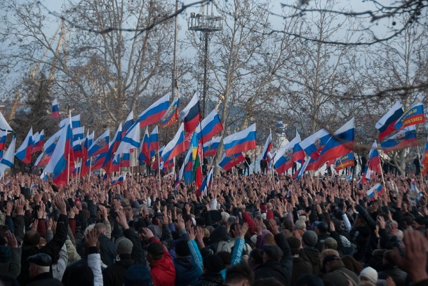 "Rally for ""Third Defense of Sevastopol"""