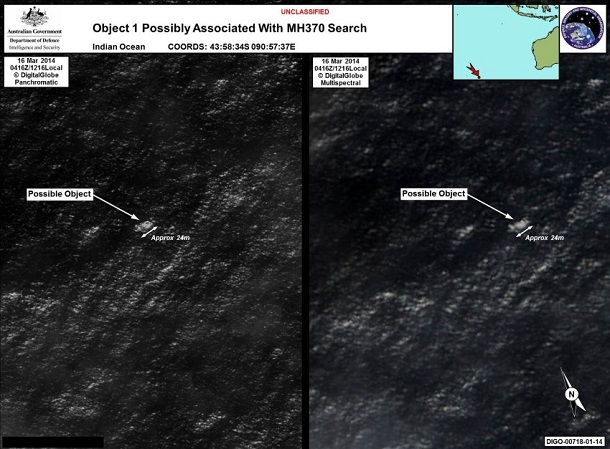 Missing Malaysia Airlines Flight MH370: Australians discover potential