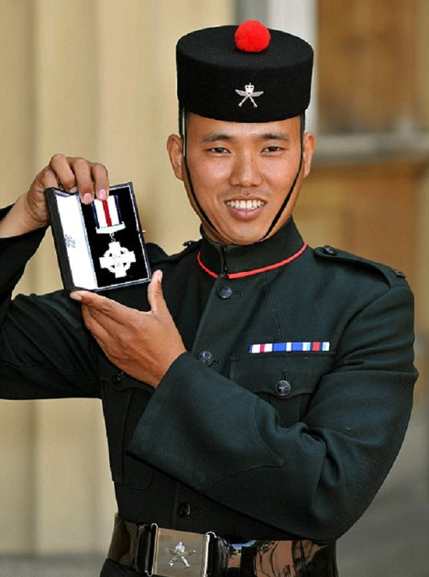 Corporal Pun 7th Gurkha regiment
