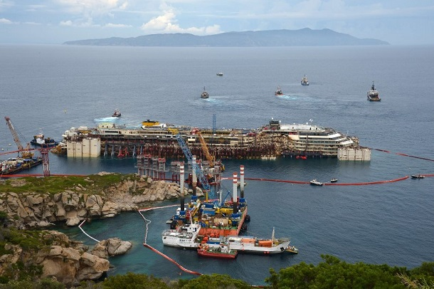 Costa-Concordia-Retrieval.