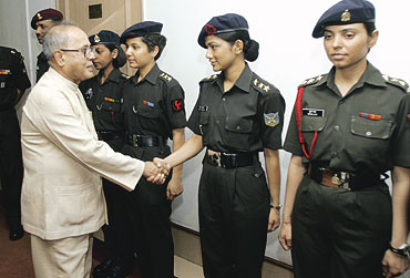 Female indian army
