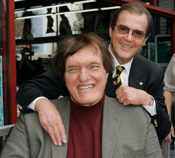 Sir Roger Moore James Bond, Richard Kiel Jaws