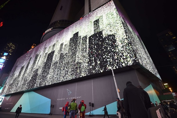 New York Times Square Greatest Video Screen of The World