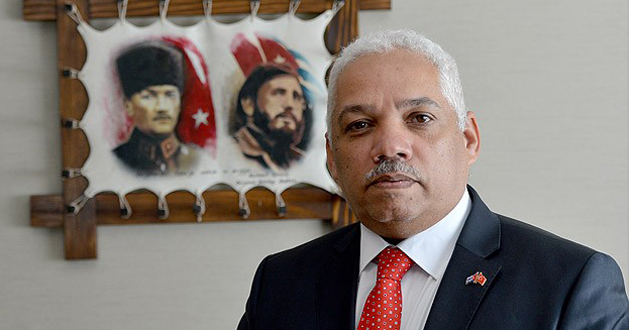 Cuban Diplomat Sings Turkey's Praises During Visit
