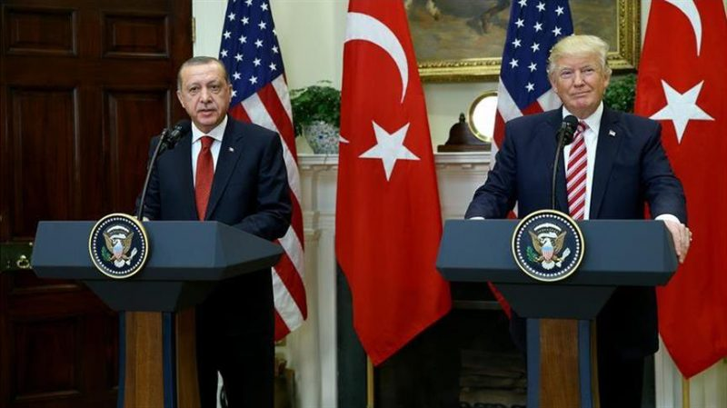 President Erdogan In US To Meet Trump At White House