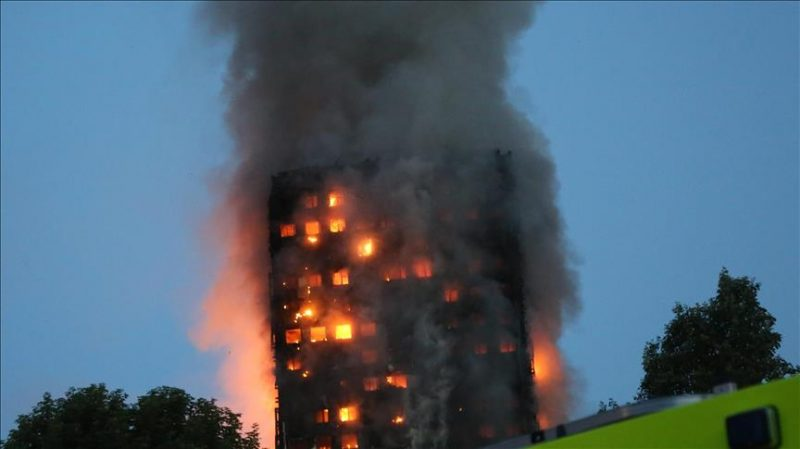 Huge Blaze In London Apartment Block Claims Lives