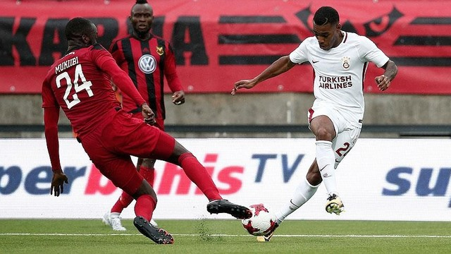 Sweden's Ostersunds defeat Galatasaray 2-0