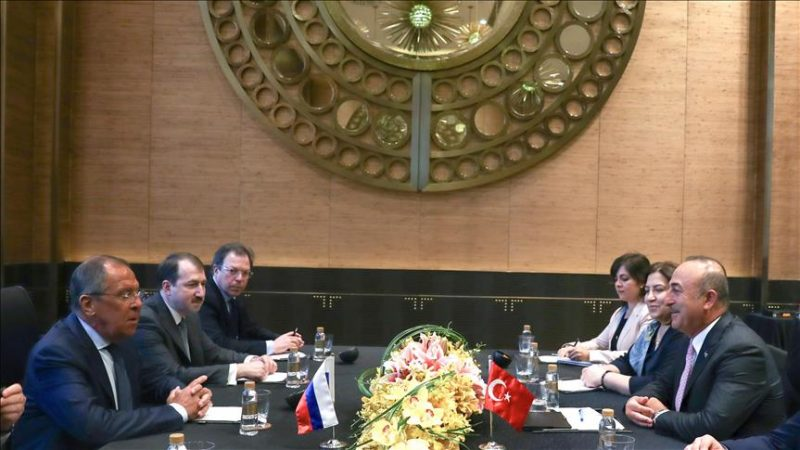 Turkey's Cavusoglu meets Russian counterpart in Manila