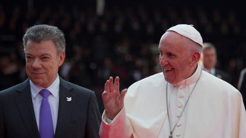 High hopes for Colombia peace accord as Pope visits