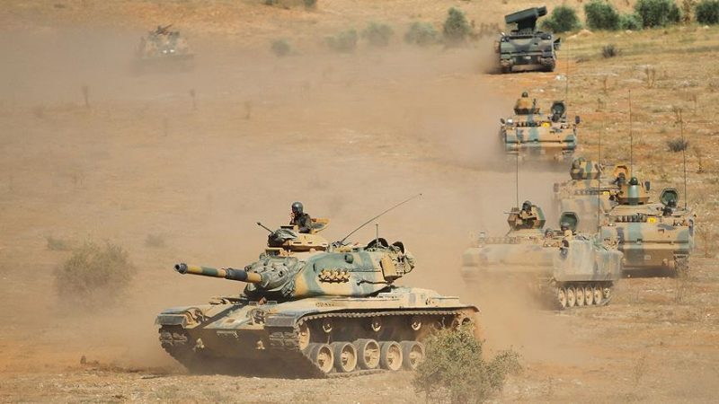 Turkey launches military exercise on Iraqi border