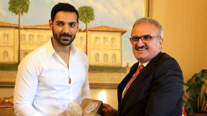 Bollywood Star John Abraham In Turkey