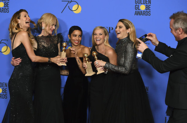 Golden Globes 2018: Sexual harassment scandal dominates ceremony
