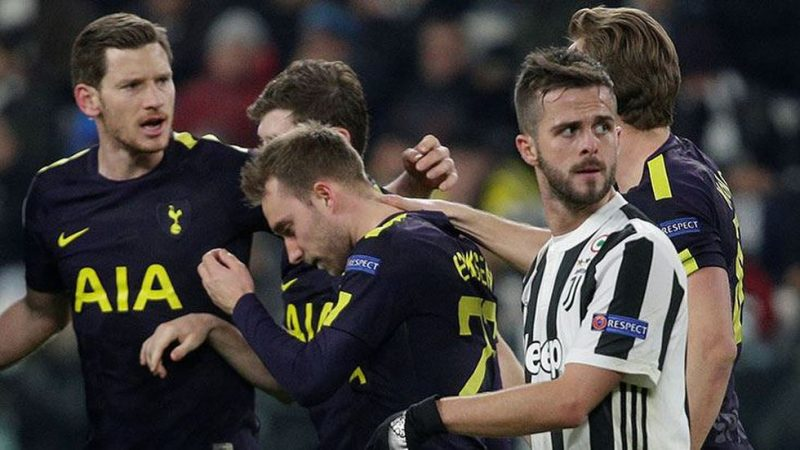 Tottenham came from 2-0 down to draw at Juventus