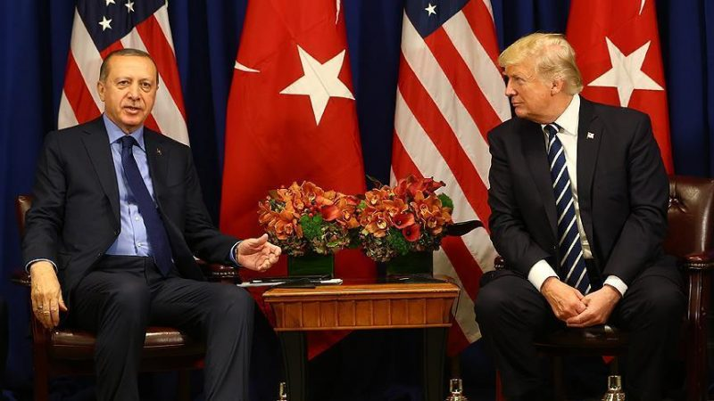 President Erdogan, Trump discuss Syria in phone call