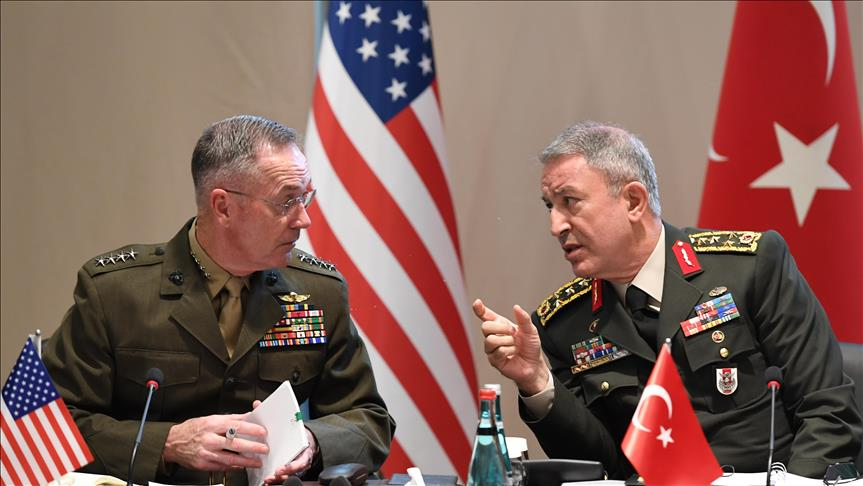 US, Turkish army chiefs discuss Syria in phone call ...