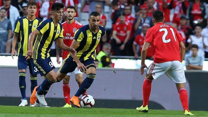 Benfica beat Fenerbahce 1-0 in Champs League quals