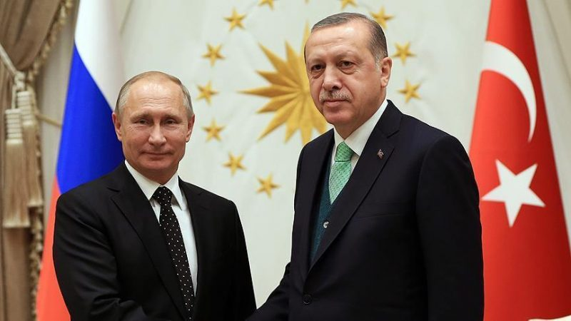 Erdogan, Putin to discuss Syria next week: Turkish FM