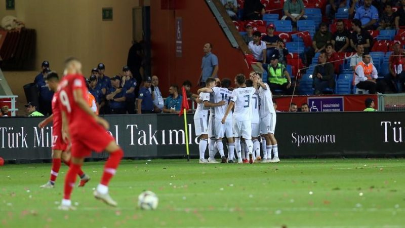 Turkey falls to Russia 1-2 in UEFA Nations League
