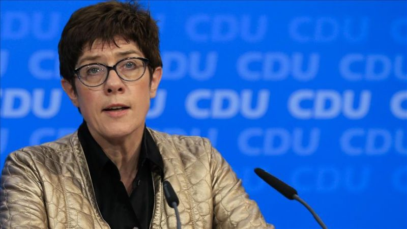 Merkel's ally enters race for party leadership