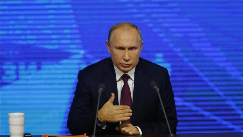 Russia's Putin warns about possibility of nuclear war