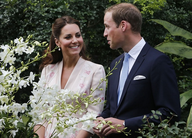 Catherine Ss Of Cambridge And Prince William Duke Smile As They Look