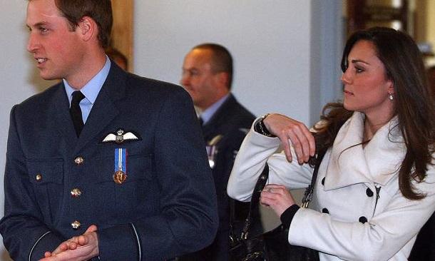 Britain S Prince William L Is Pictured