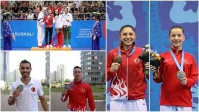 Photo of Turkey bags 15 medals in European Games