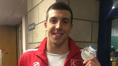 Photo of Turkish swimmer wins silver in European tournament