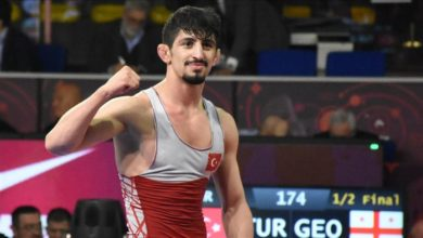 Photo of Turkish wrestler Kamal earns silver in European final