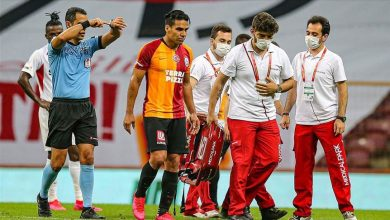 Photo of Galatasaray player Falcao suffers muscle strain