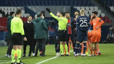 Photo of PSG-Basaksehir match suspended amid alleged racism