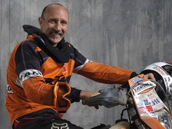 Çöl Kaplanı milli motorcu Transanatolia Rallisi'nde kaza kurbanı