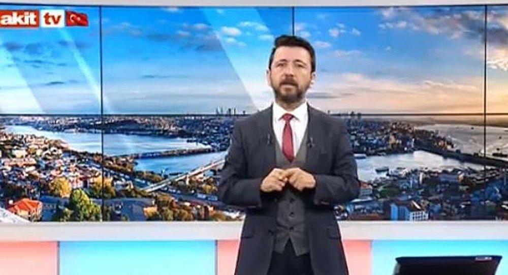 """Photo of """"Sivil öldürmeye Cihangir'den başlarız"""" diyen Akit spikerine AKP'den de sert tepki"""