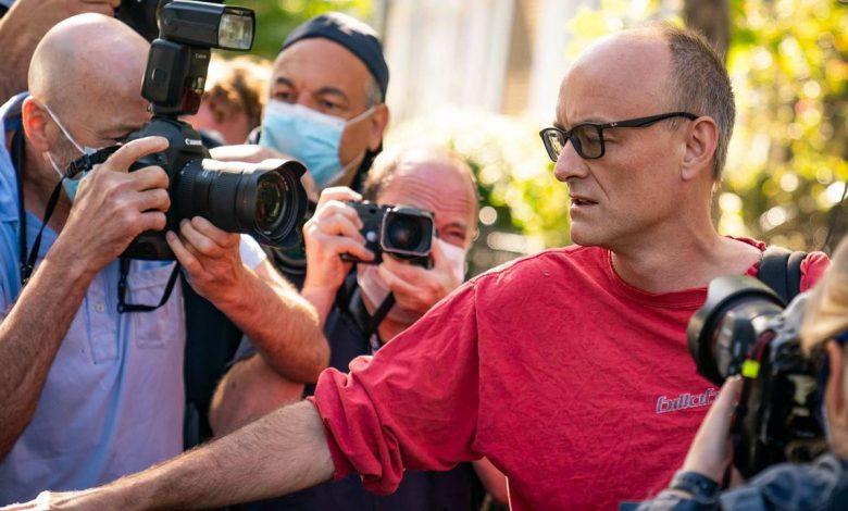 Dominic Cummings Medyanın Sıkı Takibinde